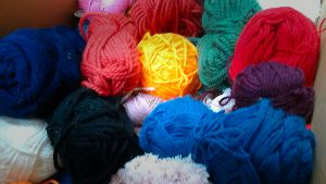 イロトリドリの毛糸